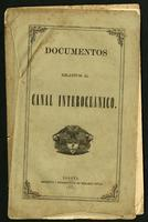 Documentos relativos al canal interoceánico (1870)