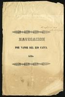 Navegación por vapor del Rio Cauca (1870)