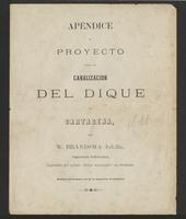 Apéndice al proyecto para la canalización del Dique de Cartagena (1888)