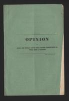 Opinión de Manuel José González and Scipión García Herreros, representantes del pueblo, sobre la federación (1855)