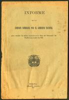 Informe de la comisión nombrada por el Congreso Nacional para estudiar los daños ocurridos en la línea del ferrocarril del Pacífico en octubre de 1912 (1913)