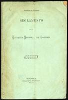 Reglamento de la Academia Nacional de Historia (1909)