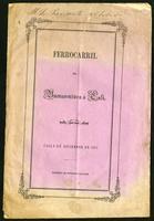 Trasmisión del privilegio concedido á la Compañía empresaria del camino de Buenaventura á Cali, y construcción de un ferrocarril (1871)