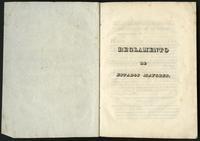 Reglamento de Estados Mayores (1833)
