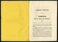 Caminos públicos (1848)