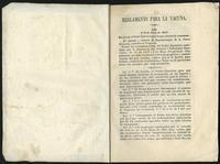 Reglamento para la vacuna (1843)