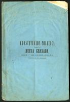 Constitución política para la Nueva Granada aprobada en el 2o debate por el Senado de la República en 1853 (1853)