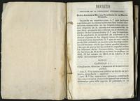 Decreto orgánico de la instrucción universitaria (1844)
