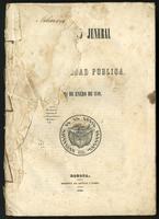 Reglamento jeneral de contabilidad pública de 24 de Enero de 1849 (1849)