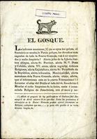 El Gosque (1834)