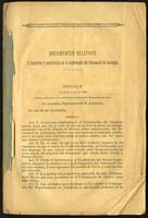 Documentos relativos. El emprésito y contratación de la construcción del ferrocarril de Antioquia (1892)