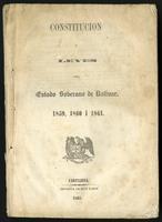 Constitución i leyes del Estado Soberano de Bolívar. 1859, 1860 i 1861 (1861)