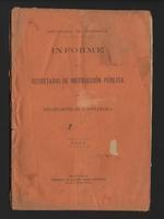 Informe del Secretario de Instrucción Pública del Departamento de Cundinamarca (1893)