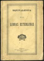 Equivalencia de las libras esterlinas (1874)