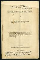 The Republic of New Granada as a field for emigration