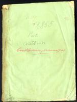 Constitución municipal de la Provincia de Pasto de 1855 (1856)
