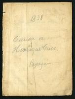 Alegato del Ministro Fiscal del Tribunal de Cauca en la causa de Henrique Grice por contrabando (1838)