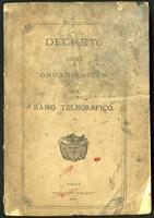 Decreto sobre organización del ramo telegráfico (1876)