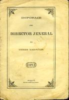 Informe del director jeneral de correos nacionales al presidente de la Unión (1872)