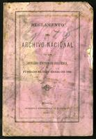 Reglamento del Archivo Nacional de los Estados Unidos de Colombia fundado el 17 de enero de 1868 (1869)
