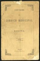 Informe del Síndico Municipal de su cargo en el año de 1865 (1866)