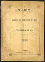 Informe del Gobernador del Departamento del Cauca a la Asamblea de 1898 (1898)