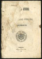 [Rules for general accounting for the finances of New Granada] (1849)
