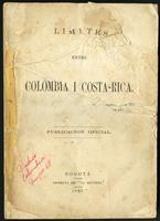 Límites entre Colombia y Costa Rica (1880)