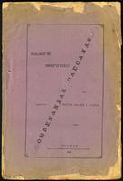 Breve estudio sobre las ordenanzas caucanas (1896)