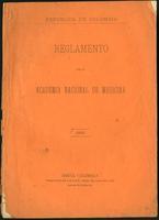 Reglamento de la Academia Nacional de Medicina (1893)