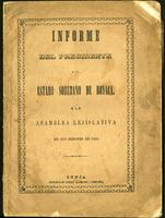 Informe del Presidente del Estado Soberano de Boyacá a la Asamblea Lejislativa en sus sesiones de 1868 (1868)