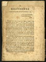 Recuerdos i contestación de un impreso (1839)