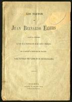 Los nietos de Juan Bernardo Elbers piden al congreso el pago de la indemnización de los daños y perjuicios para navegar por vapor en el Río Magdalena