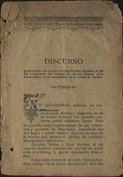 Discurso Pronunciado por el poeta arriero Paulino Acebedo, el día del Centenario del General D. Braulio Henao, en la fiesta clásica de su cumpleaños, en la ciudad de Sonsón (1902)