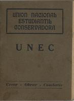 Unión Nacional Estudiantil Conservadora UNEC (1936)