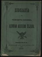 Biografía del Teniente Coronel Alfonso Acevedo Tejada (1855)