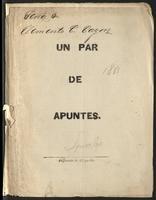 Un par de apuntes (1881)