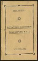 Menandro, Calderón, Shakespeare & Cia. (1906)