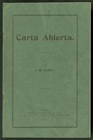 Carta Abierta (1910)