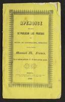 Apéndice en que se publican las pruebas del delito de conspiración, ofrecidas por el jeneral Manuel Franco, en su cuaderno publicado el 5 de marzo próximo pasado. (1853)
