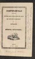 Conferencias tenidas entre los Jenerales en Jefe de los dos ejércitos del Ecuador y la Nueva Granada, tenidas en Pasto a 15 de octubre de 1841. Sobre la intervención Ecuatoriana y nuevos límites territoriales (1842)