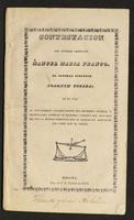 Contestación del Jeneral Graduado Manuel María Franco, al Jeneral efectivo Joaquín Posada... (1843)