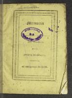 Memoria que el Secreatario de Guerra y Marina del gobierno de la Nueva Granada presenta al Congreso de 1838 (1838)