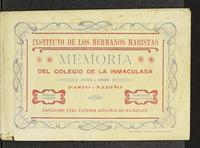 Memoria del Colegio de la Inmaculada 1925-1926 (1926)