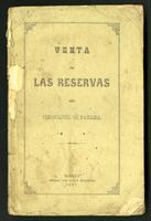 Venta de las reservas del ferrocarril de Panamá (1867)