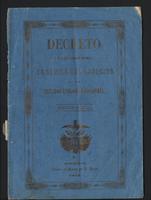Decreto orgánico del ejército de los Estados Unidos de Colombia (1862)