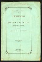 Amortización de la deuda exterior por medio de la enajenación de las salinas de la República. Edición oficial (1871)