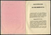 Instrucciones para tejer sombreros de paja (1856)