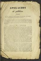 Apelación al público (1837)