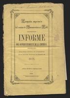 Compañía Empresaría del Camino de Buenaventura a Cali. Informe del Superintendente de la empresa a la junta general de accionistas en sus sesiones ordinarias de Febrero de 1872 (1872)
